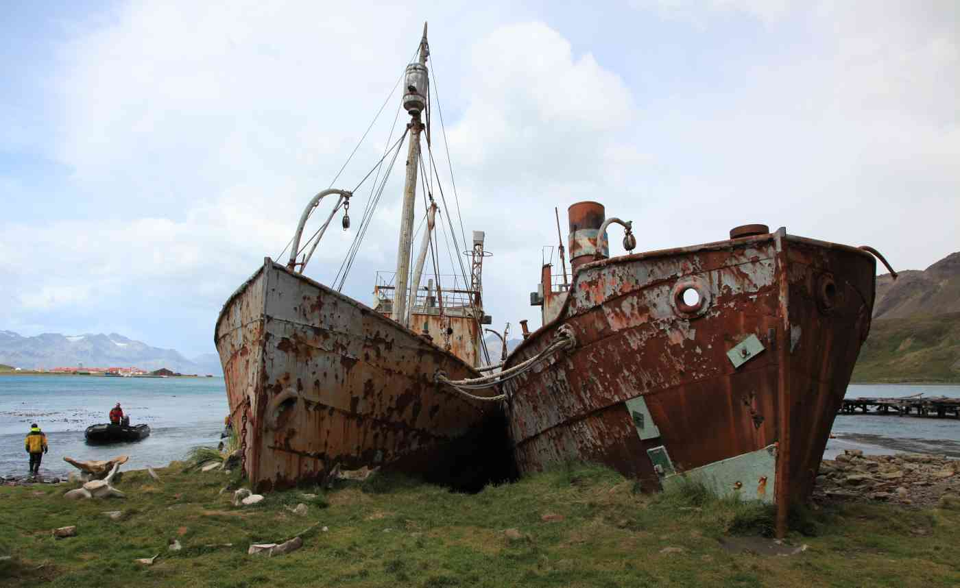 derelict trawlers