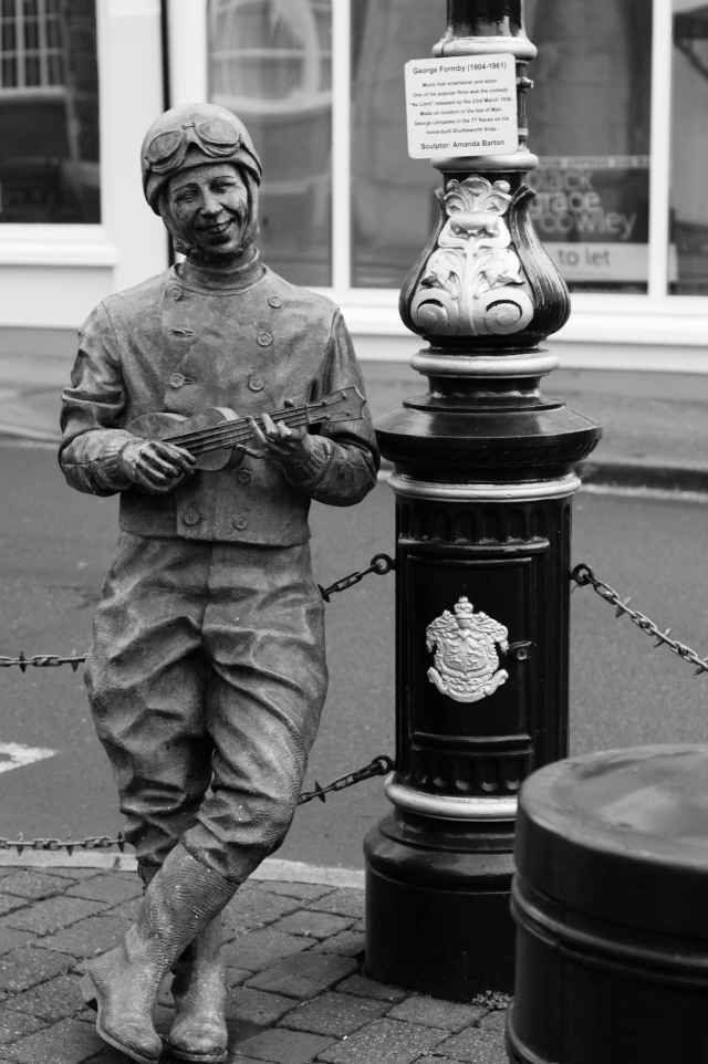 statue of George Formby