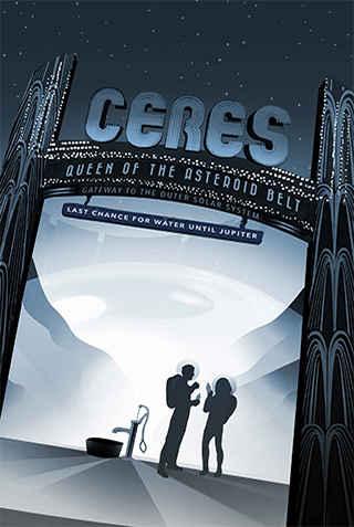 Ceres - JPL Travel Poster