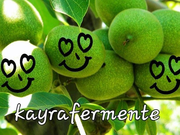Fermente Yeşil Ceviz Reçeli