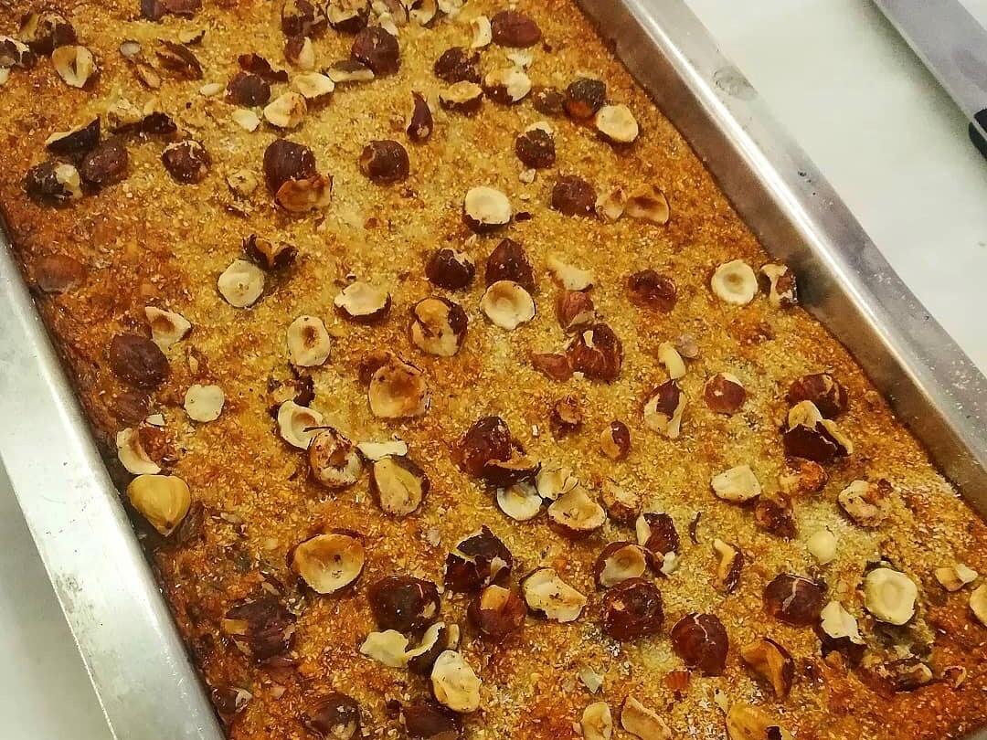 Muzlu İncirli Yulaflı Sağlıklı Kek