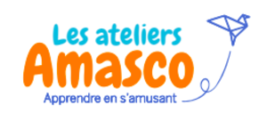 Logo Ateliers Amasco Jouer et Apprendre