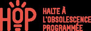 Logo HOP - Halte à l'obsolescence programmée