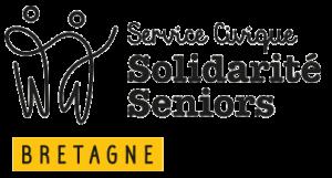 Logo Service Civique Solidarité Séniors