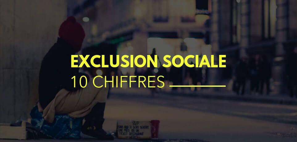 L'Exclusion Sociale en France en 10 Chiffres