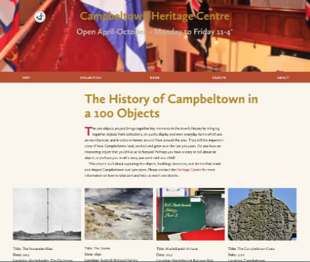 Heritage Centre - The history of Campbeltown in 100 objects