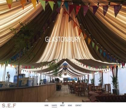 Stitich Exhibition Fabrics - Glastonbury show