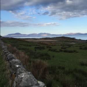 Peninver, looking towards Isle of Arran