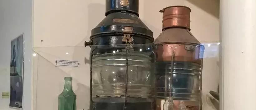 Mining lamps