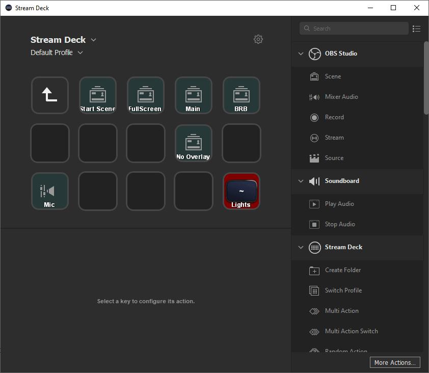 My stream deck Stream folder