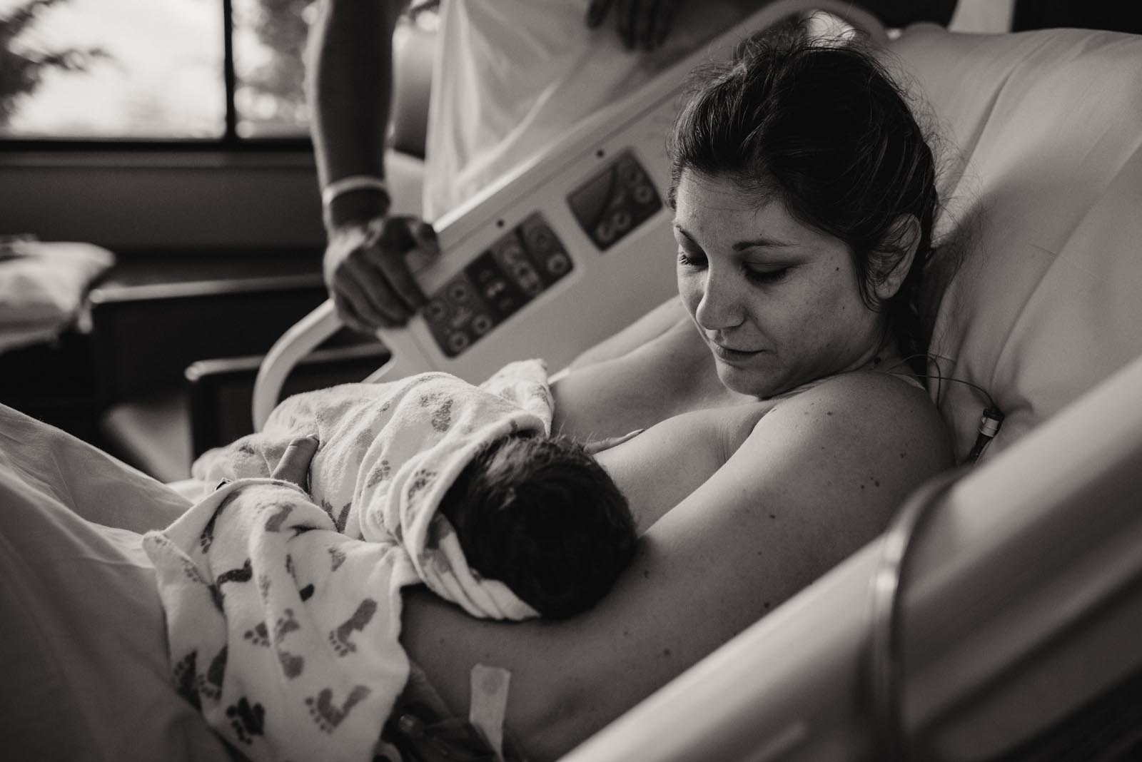 Ali's Birth Story - Legacy Mt Hood Family Birth Center in Gresham, OR