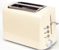 Toast it Stainless Steel Low Wattage Toaster (Cream)
