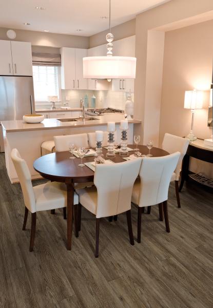 Dining area flooring