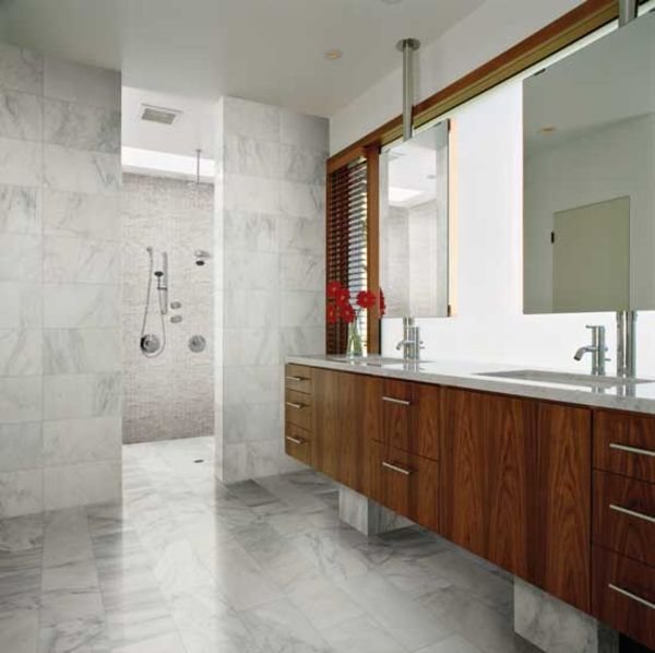 Daltile Marble Collection Adda Blend BrickJoint Polished Mosaic - Daltile duluth ga