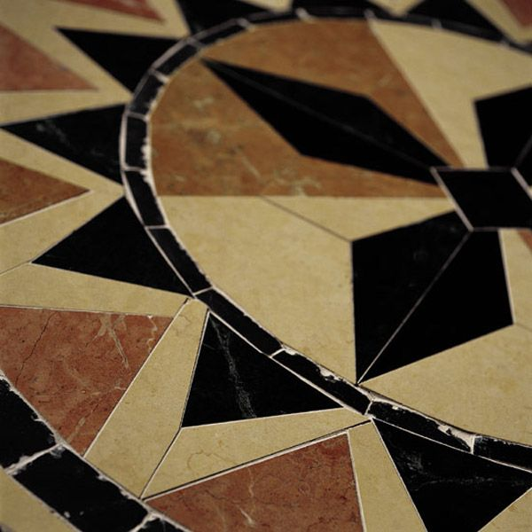 Daltile Marble Collection Adda Blend BrickJoint Polished Mosaic - Daltile duluth