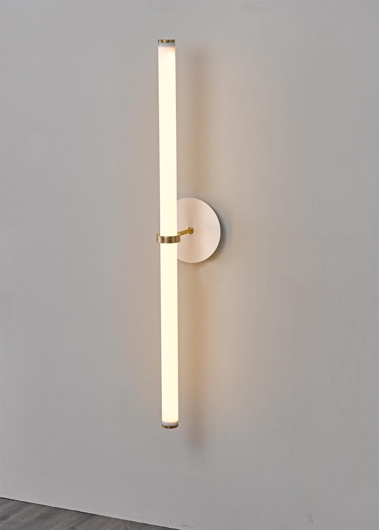"""""""Naama Hofman Light Objects 014 Brass wall mount"""""""