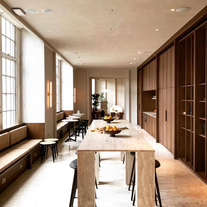 """Naama Hofman Light Objects 014 Brass and ivory lounge"""