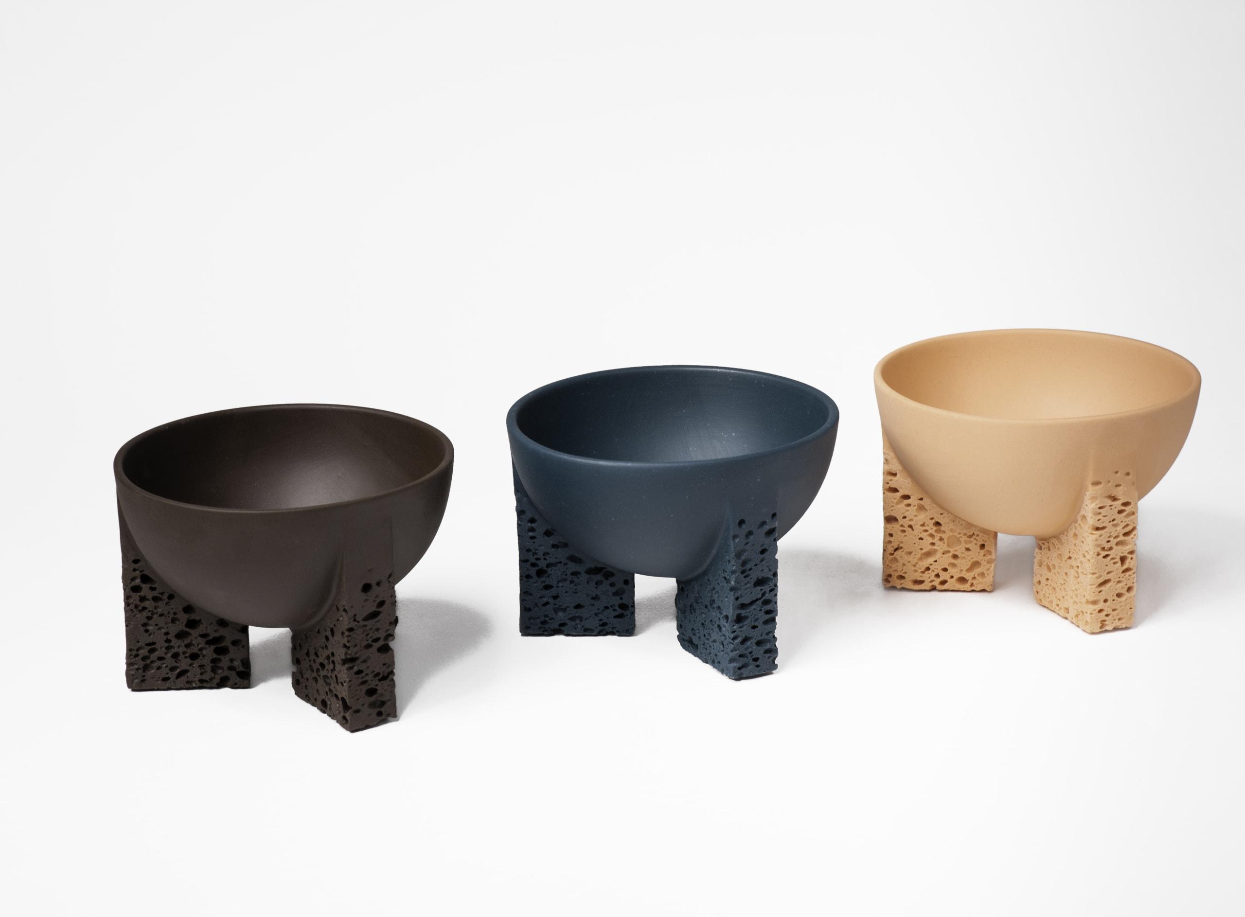 """Studio Furthermore Tektites Bowls, Large in various colors"""