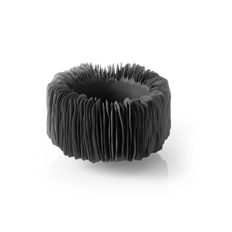 Bowl in black by Olivia Walker