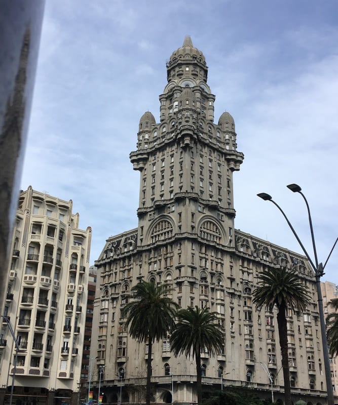 Palacio Salvo is a historic building in Montevideo in Uruguay for winter travel