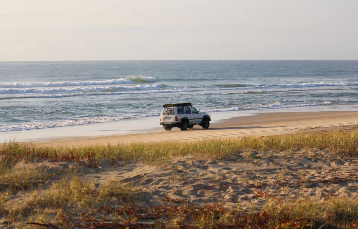 Roadtrip in Australien mit Australien Reisepartner auf der Fraser Island im Osten Australiens