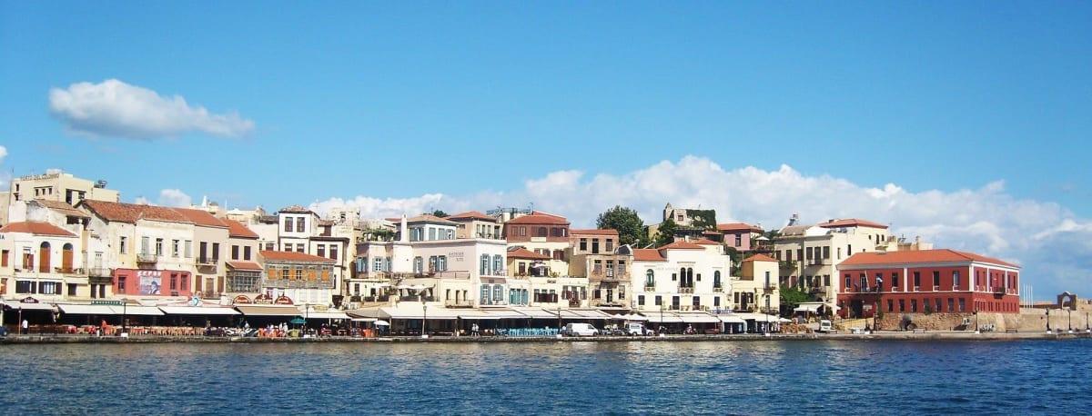 Waterfront in Heraklion auf Kreta