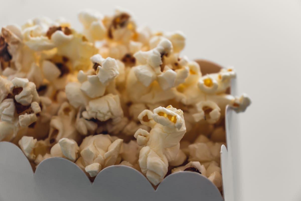 a packet full popcorn