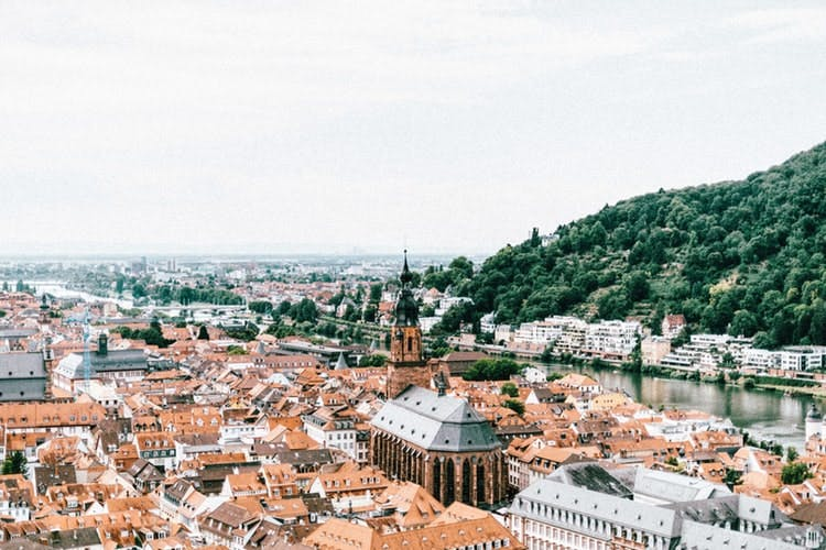 best places to visit in germany - heidelberg city