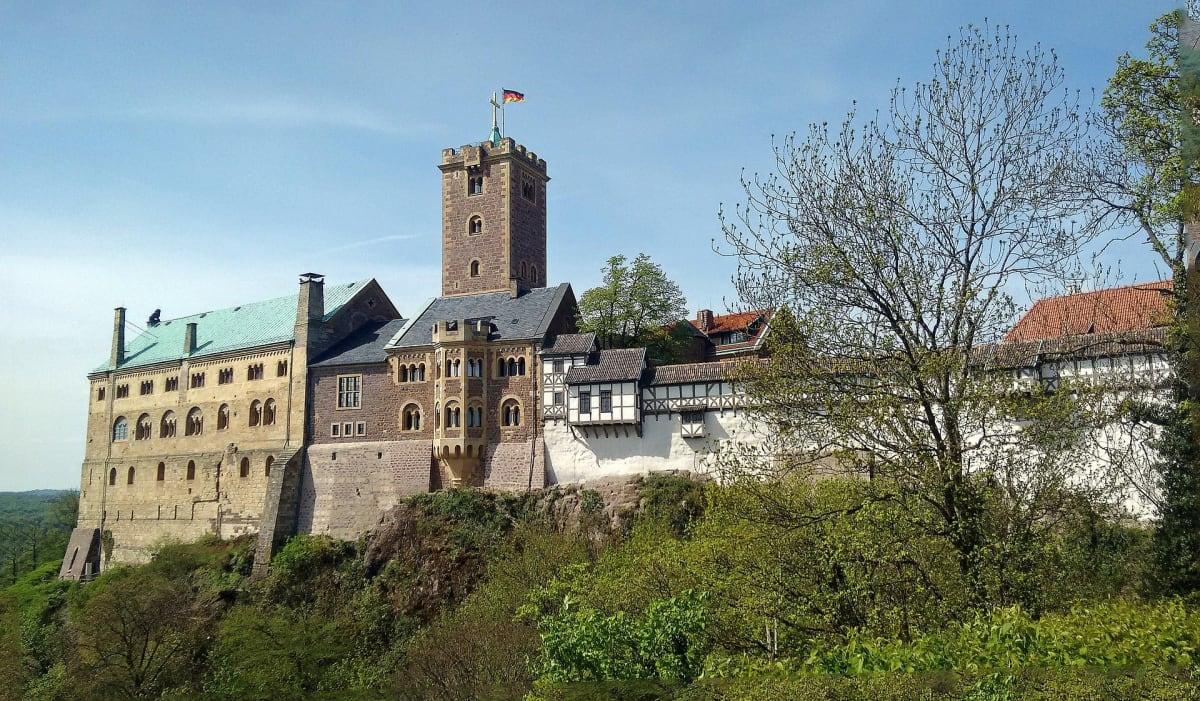 Die Wartburg in Eisenach in Thüringen