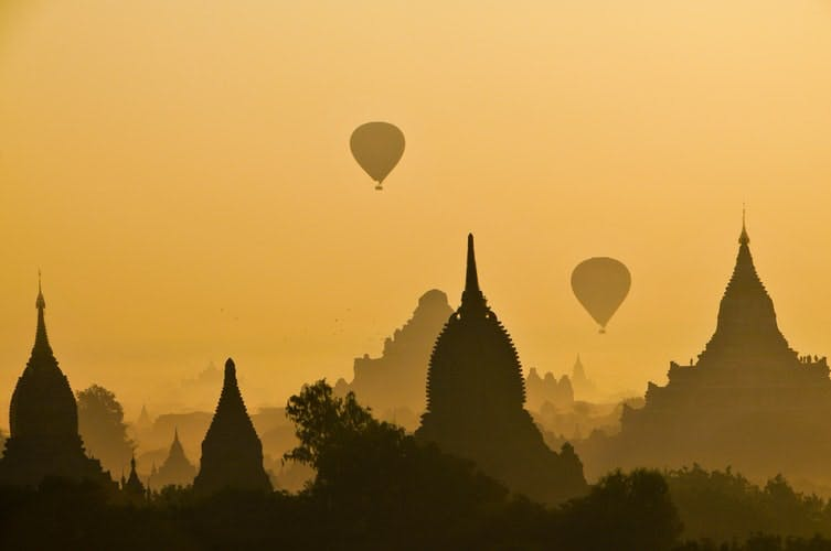 best places to travel in 2020 - old bagan myanmar