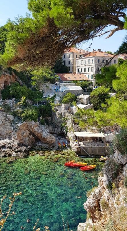 Seaside of Dubrovnik
