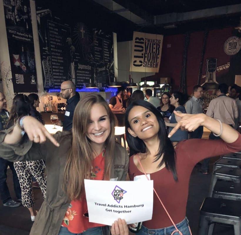 Travel Event von JoinMyTrip in Hamburg, bei dem sich Reisepartner gesucht und gefunden haben.