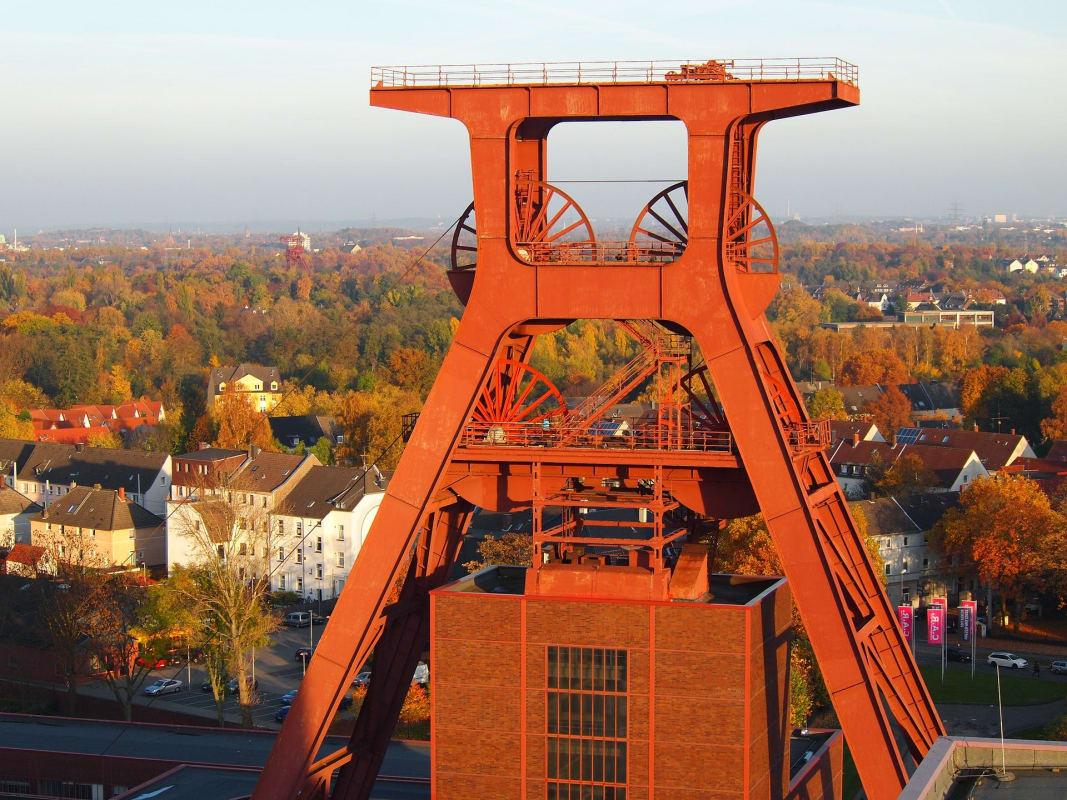 Alte Zeche im Ruhrgebiet in Nordrhein-Westfalen