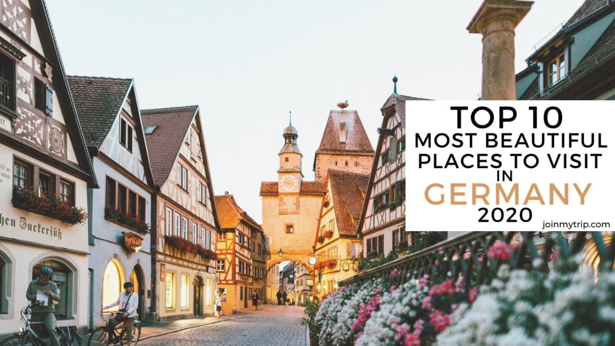 top 10 most beautiful places to visit in germany in 2020-rothenburg