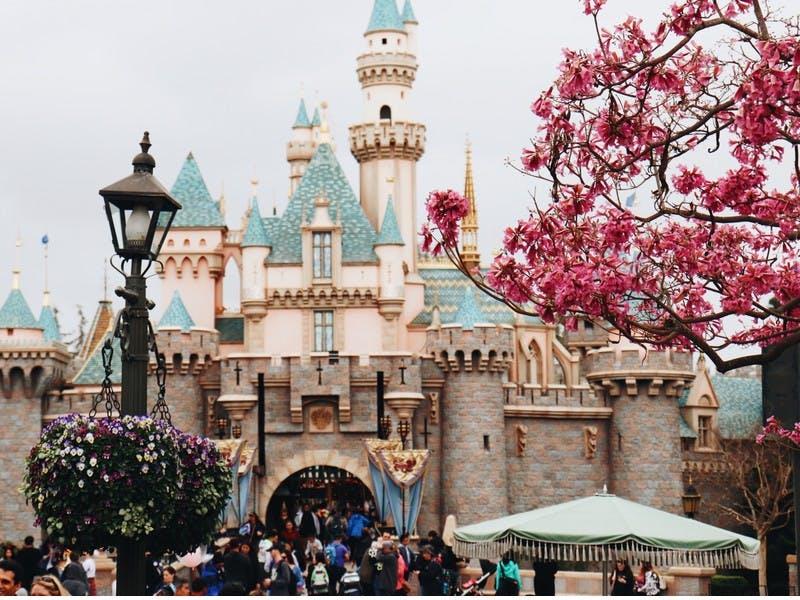 Disneyschloss in der Disney World in Orlando in den USA gehört auf jede Reise Bucket List.