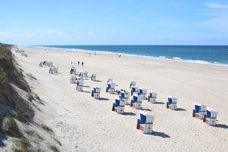 best places to visit in germany - sylt beach sea