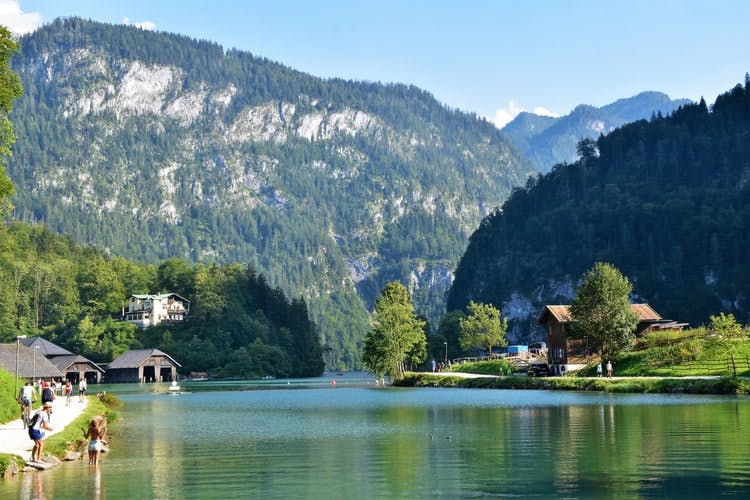 best places to visit in germany - berchtesgadener land