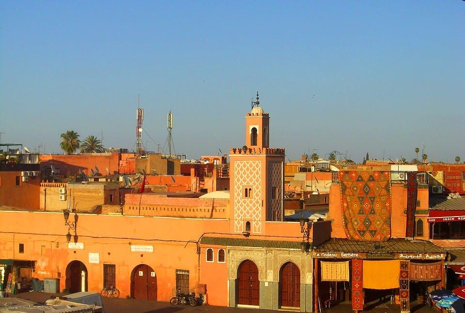 Buildings in Marrakesh