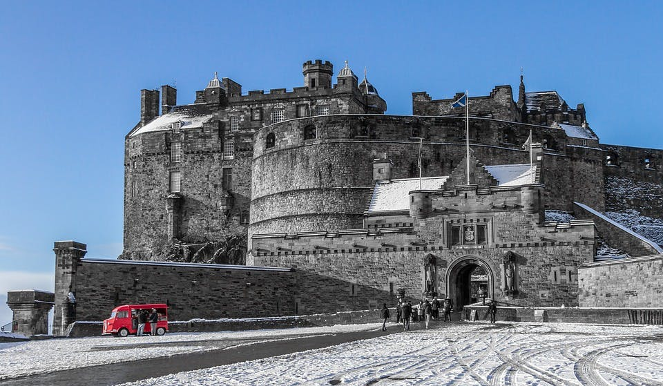 cheap new year destinations - edinburgh
