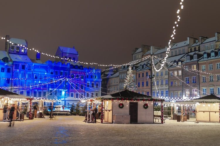 cheap new year destinations - warsaw