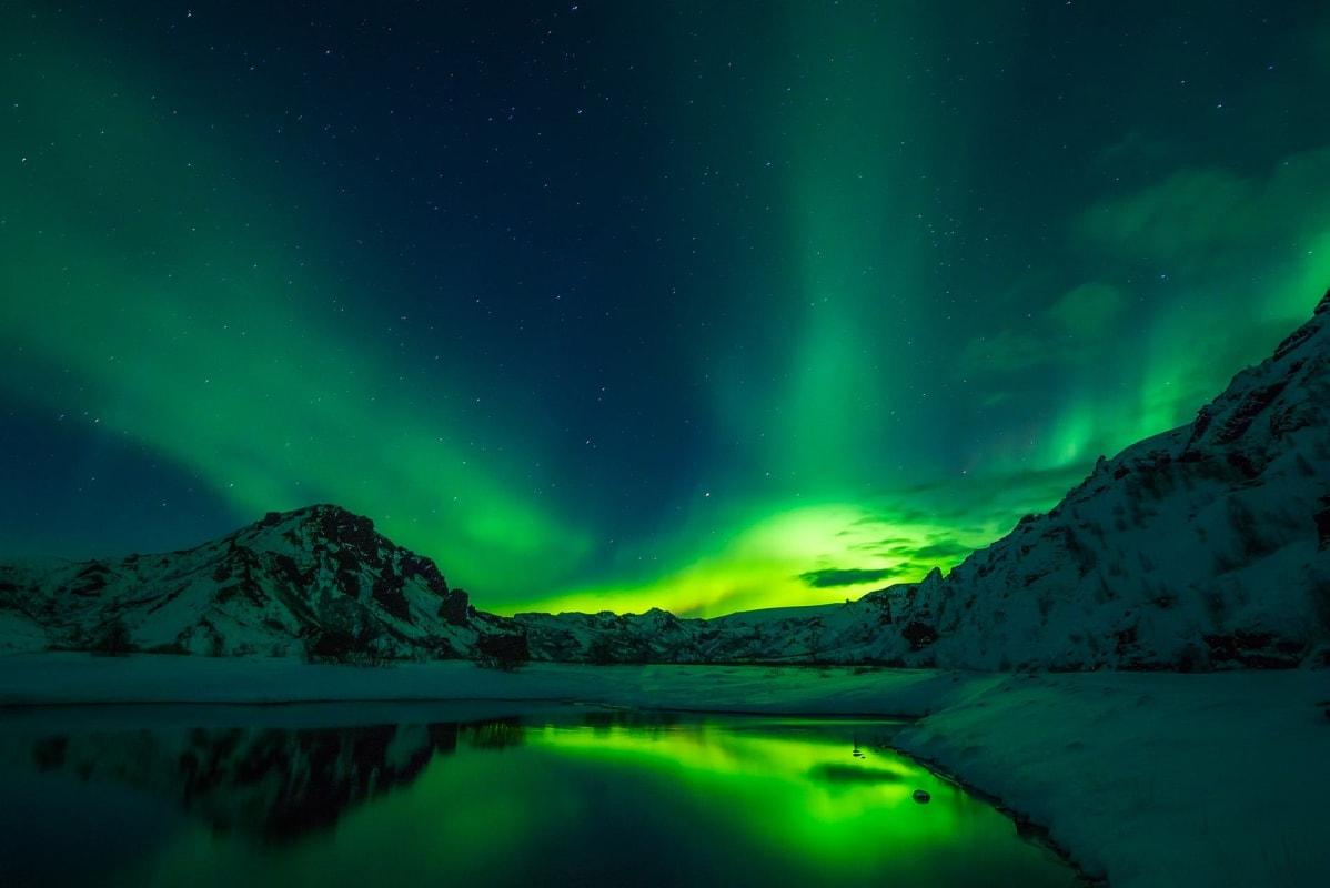 Polarlichter / Nordlichter in Skandinavien