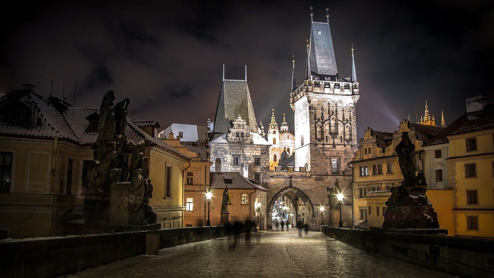 cheap new year destinations - prague