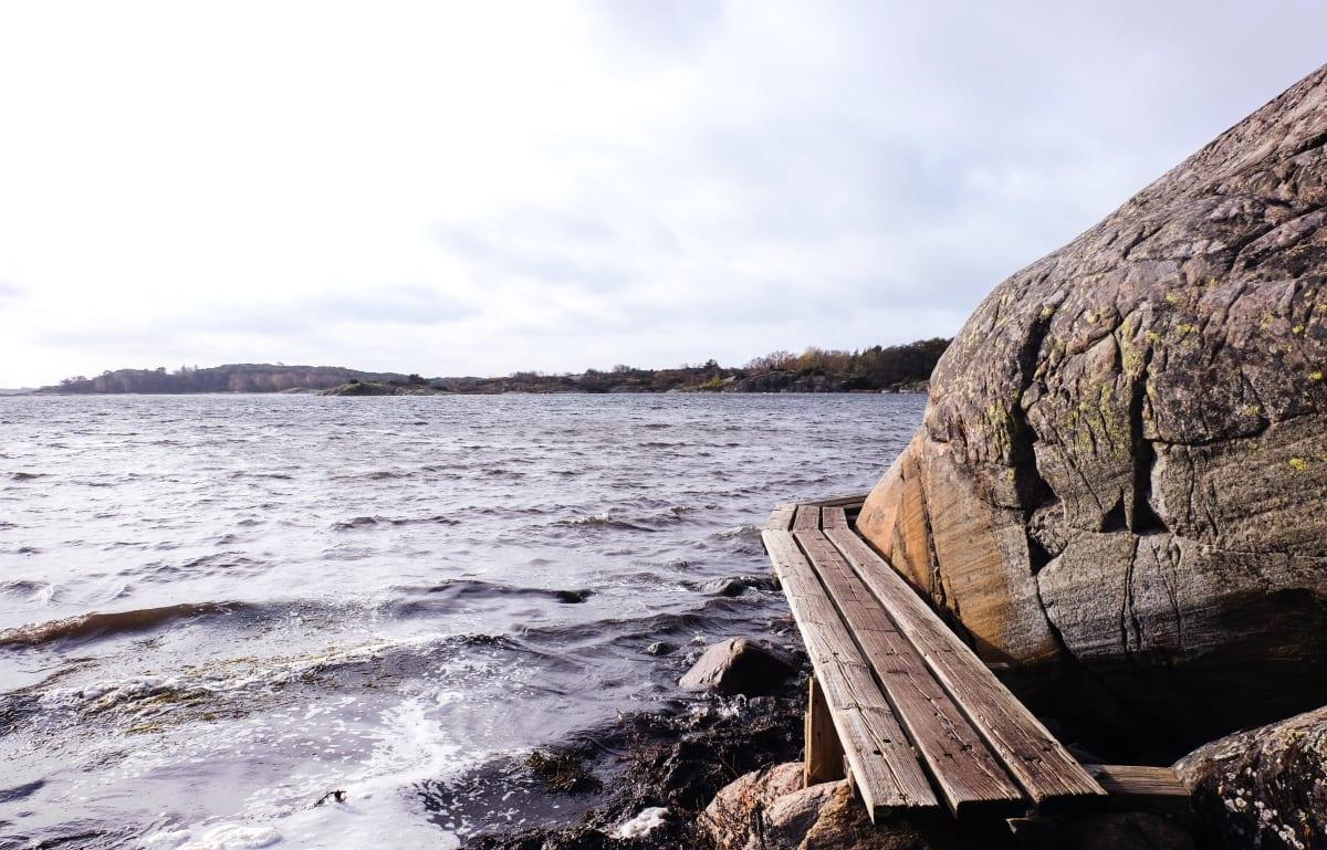 Die Insel Stora Amundön liegt in der Nähe von Göteborg in Schweden. Ein perfekter Ort zum Schnorcheln in Europa.