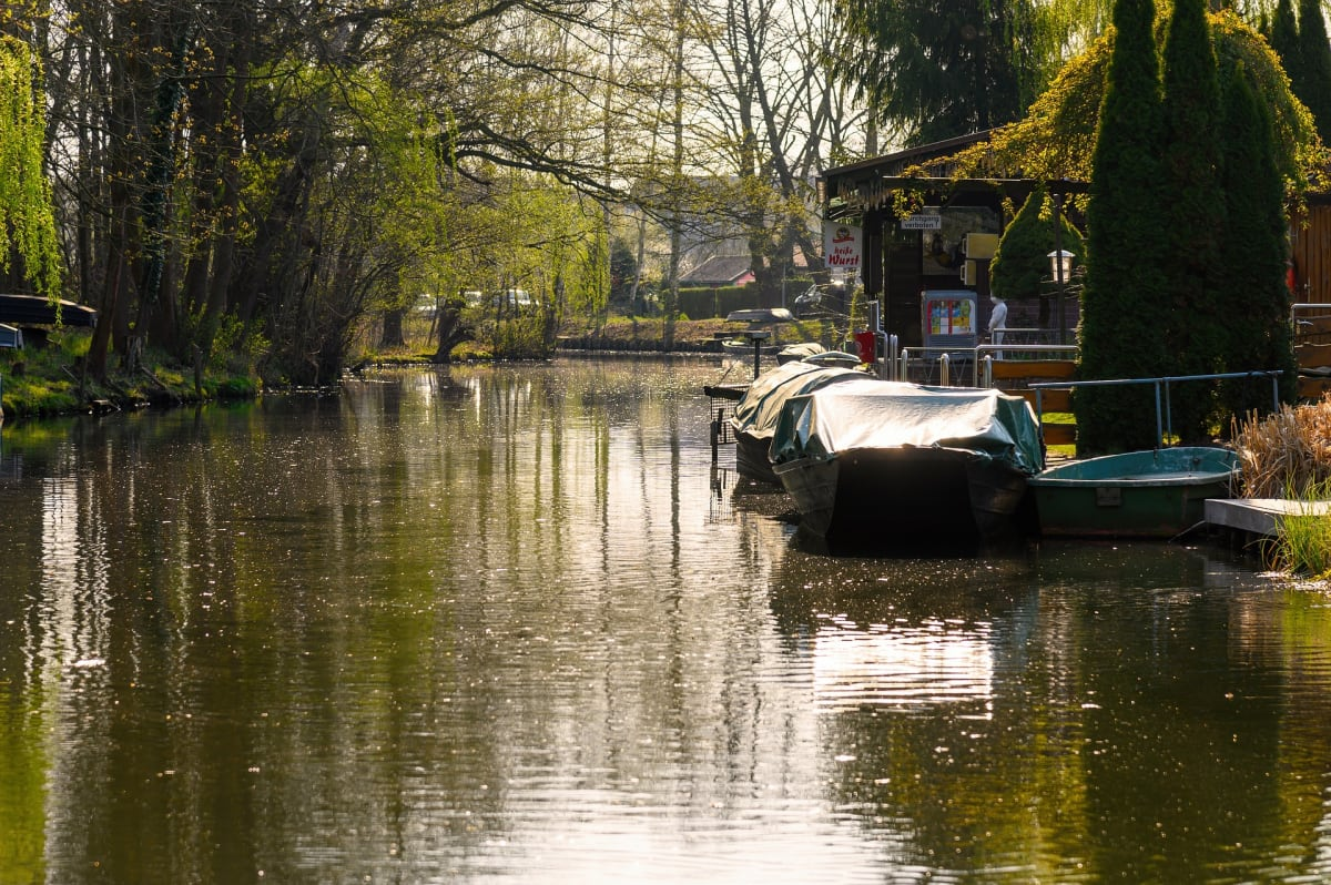 best places to visit in germany spreewald river and boat