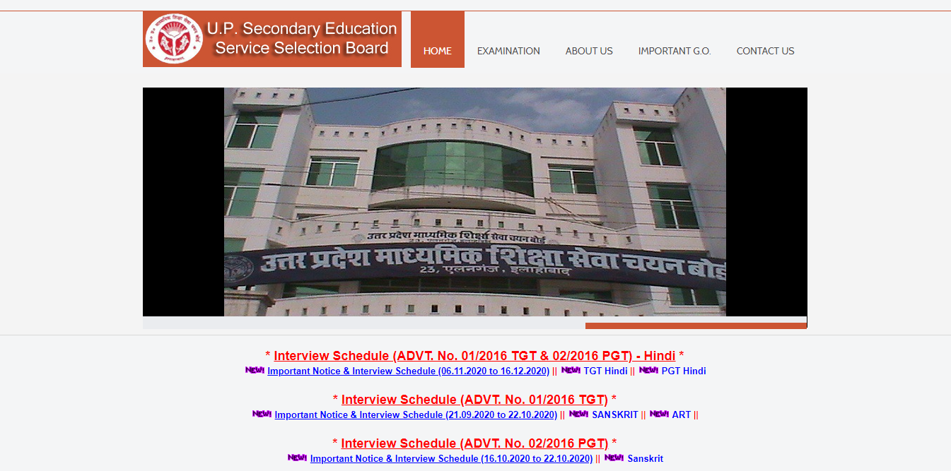 Government Teacher Job in Uttar Pradesh for TGT/PGT | GovtVacancy, latest government vacancies in uttar pradesh, Uttar Pradesh Secondary Education Service Selection Board Vacancies for 16133 Posts of TGT/ PGT Teachers.