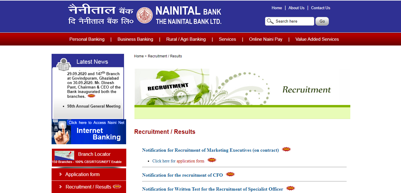 latest government vacancies in bank, uttarakhand bank job, latest bank job for graduates, graduates jobs in nainital bank, uttarakhand bank jobs for marketing, latest govtvacancy for graduates in bank
