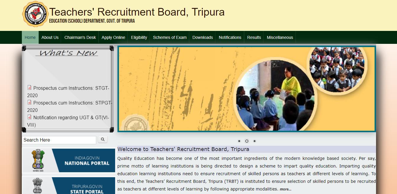 latest government vacancies in tripura, govt teacher vacancy, govt job for teacher, UGT and GT Vacancy in tripura, Graduate job for teacher