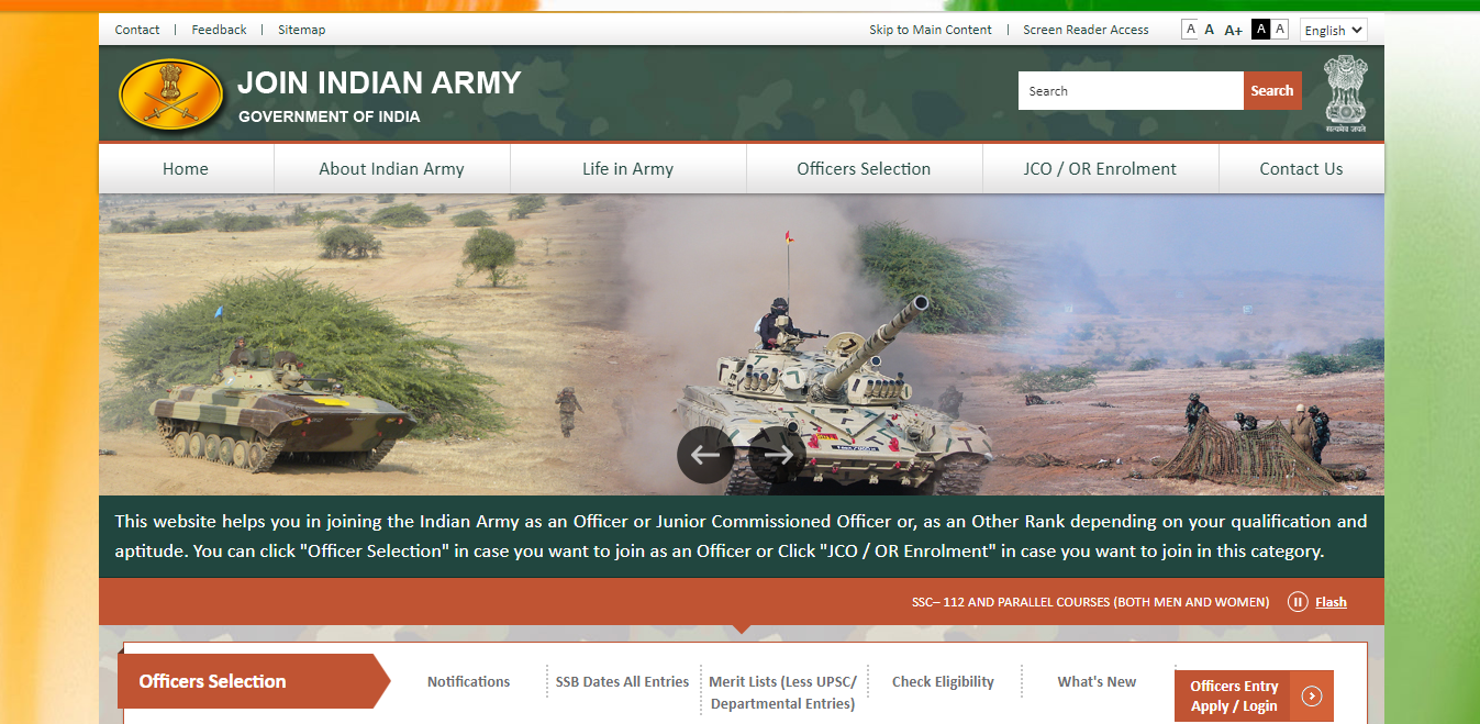latest government vacancies in Indian Army, Muzaffarpur Indian Army Rally Recruitment Online, 10th pass and 12th pass govt job in Indian Army