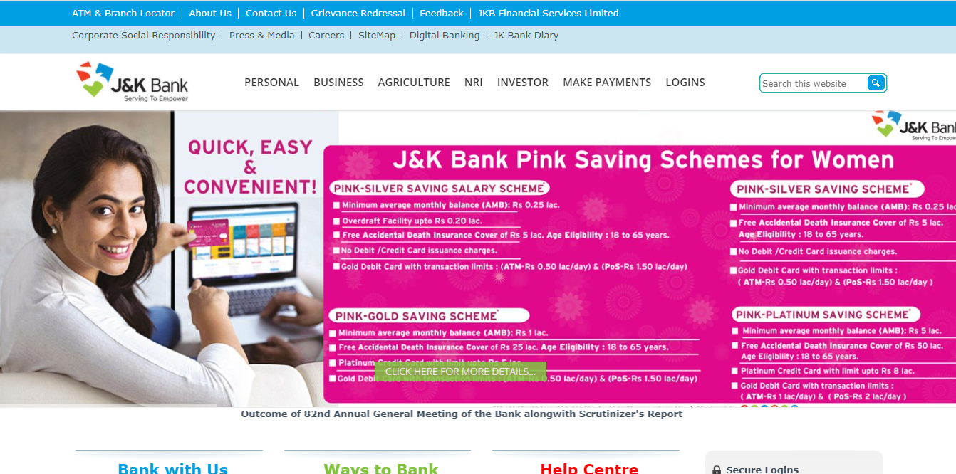 latest government vacancies in Jammu and Kashmir Bank, Bank Job for BTech Engineers, Govt Vacancy in Bank for Accountant