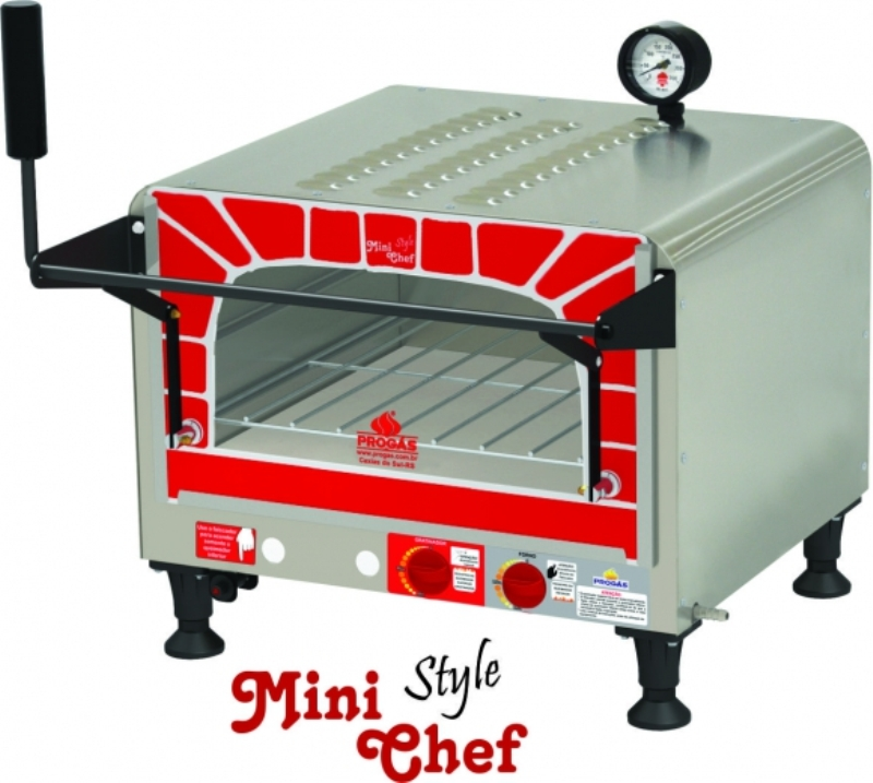 FORNO MINI CHEF GÁS  PRP-400 Style G2